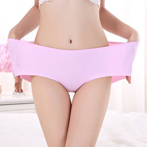 Ice Silk Sexy Plus Size Underwear (6pcs Set)