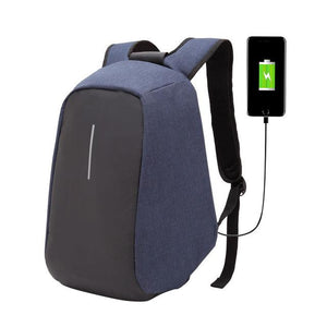 Anti Theft Canvas Backpack (3 Colors)