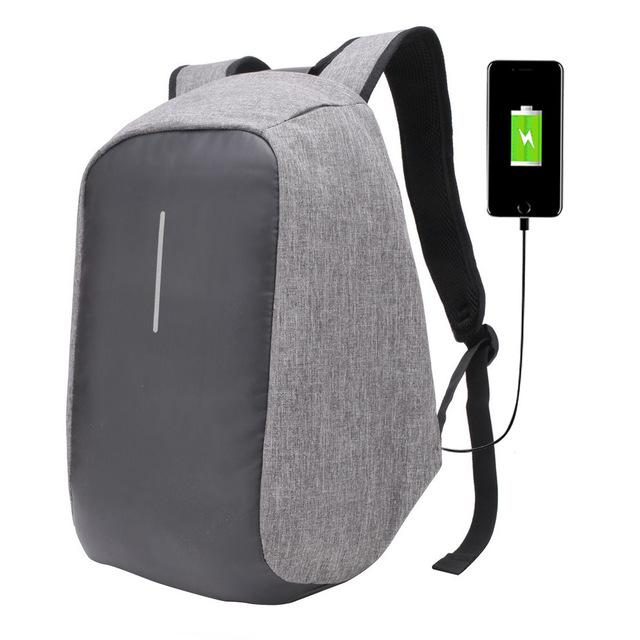 Copy of Anti Theft Canvas Backpack (3 Colors)