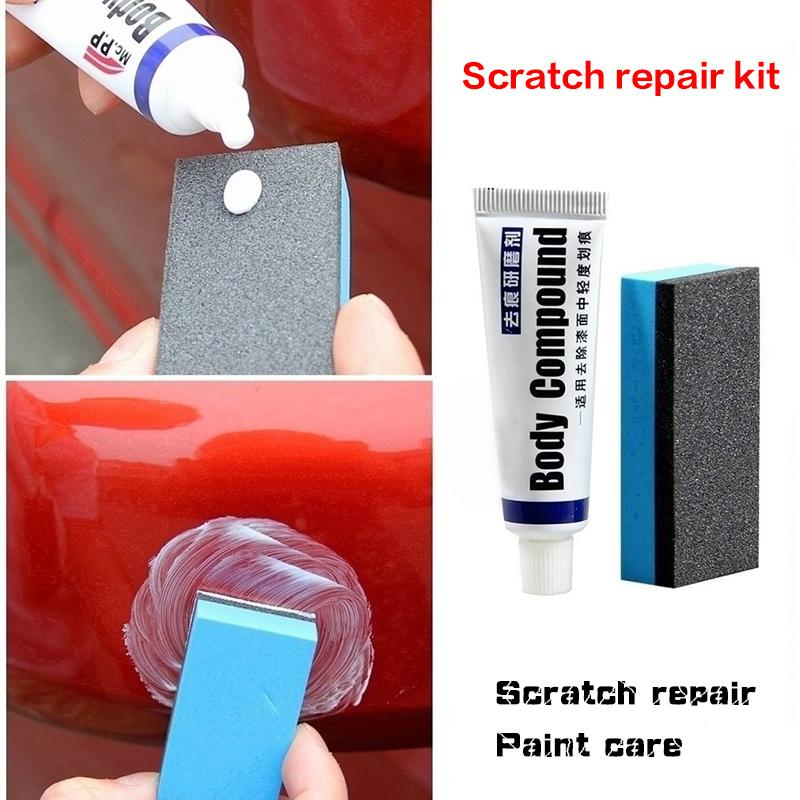 Car Body Compound Scratch Remover Set