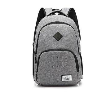 USB Charging Anti Pickpocket Backpack, Cut-Proof, Water-Resistant