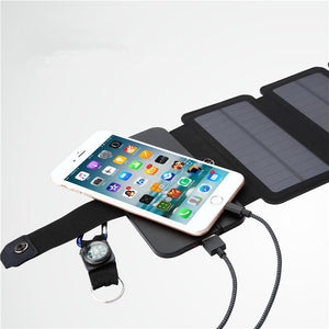 7.5W Solar Charger 5V USB Solar Power Charger