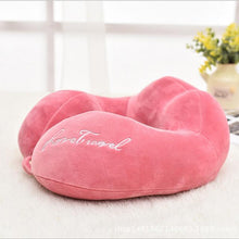 U Shaped Memory Foam Neck Support Pillow for Travel & Long Flights