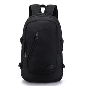 Unisex Anti Theft Bag, Secure Rucksack for Travel, Slash Proof