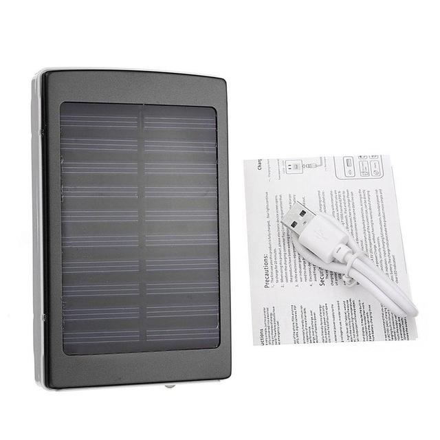 50000mAh Large Capacity Solar Panel Power Bank