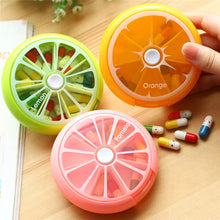 Medicine Box - Weekly Pill Organizer Fruit Shapes