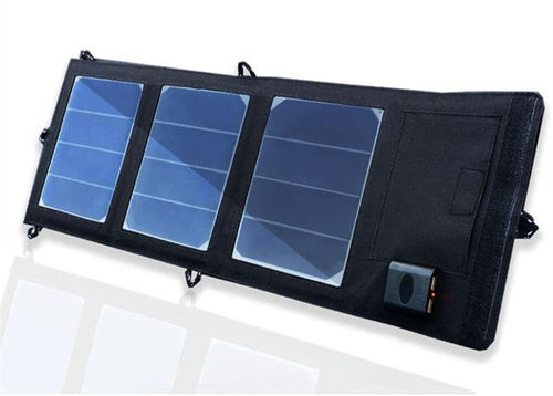 Folding Portable Power Bank Solar Charger for Smartphone