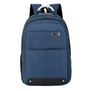 Unisex Anti Theft  Backpack - Large Capacity, Oxford, Waterproof