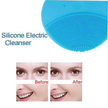 Electric Silicone Facial Cleansing Brush
