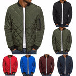 Men's Rhombus Winter Jacket
