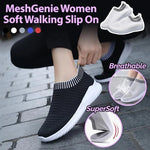 MeshGenie Women Soft Slip On Sneakers