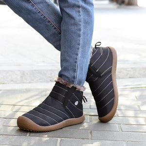 Men Winter Water-resistant Ankle Boots