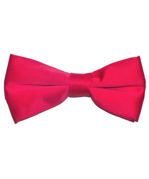 Solid Hot Pink Men's Formal Bow Tie