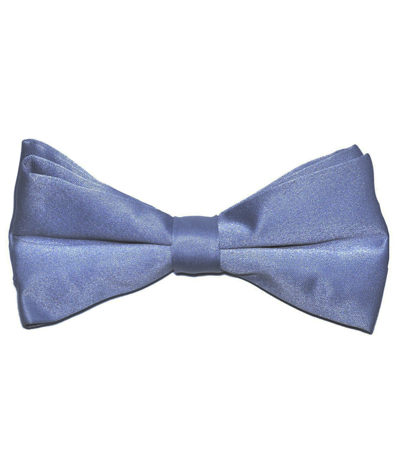 Solid Grey Men's Formal Bow Tie - tiepassion