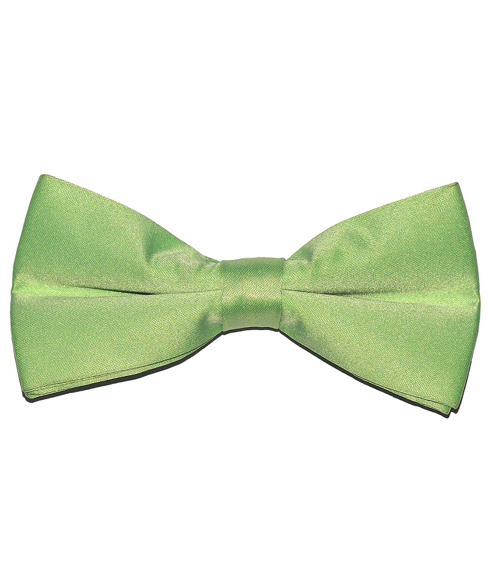 Solid Light Green Men's Formal Bow Tie - tiepassion