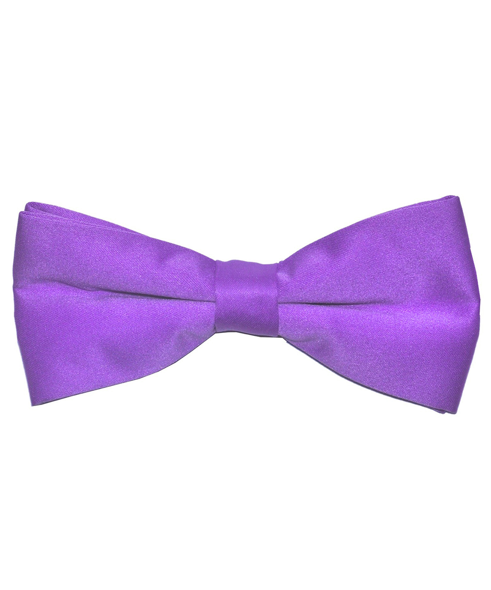 Solid Viola Men's Formal Bow Tie - tiepassion