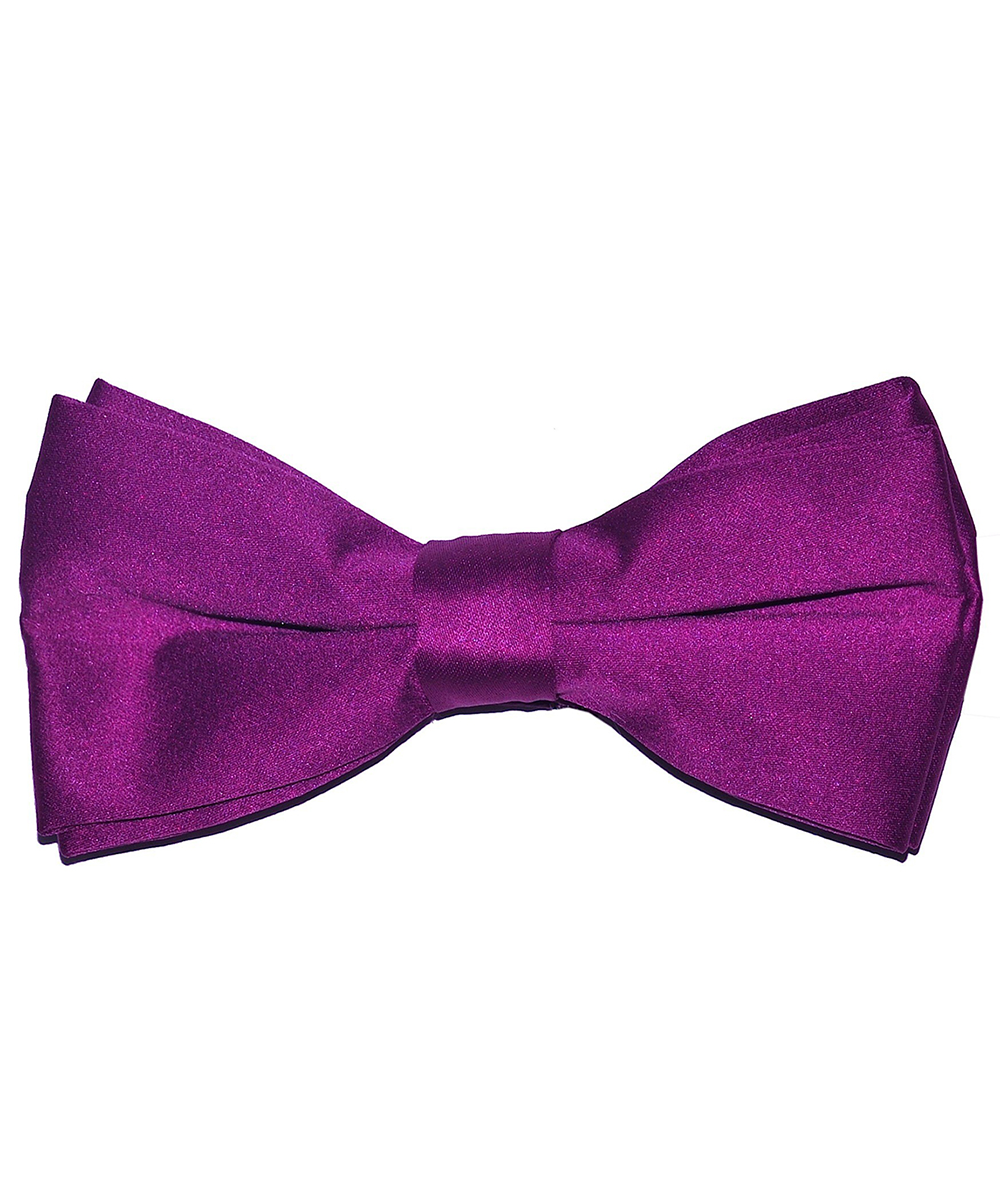 Solid Dahlia Men's Formal Bow Tie - tiepassion