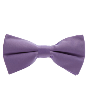 Solid Iris Orchid Men's Formal Bow Tie - tiepassion