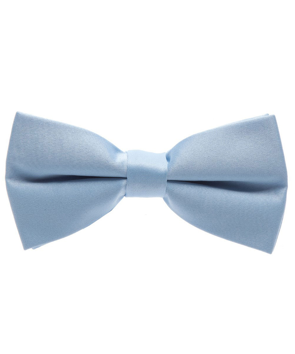 Solid Glacier Gray Men's Formal Bow Tie - tiepassion