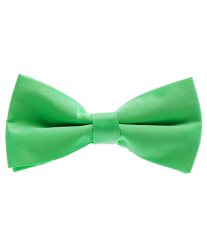 Solid Summer Green Men's Formal Bow Tie - tiepassion