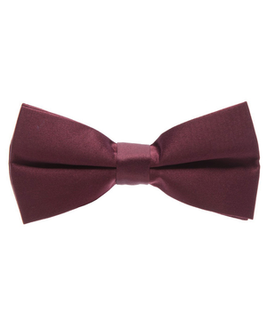 Solid Beet Red Men's Formal Bow Tie - tiepassion