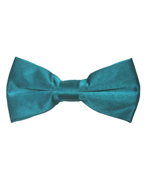 Solid Blue Coral Men's Formal Bow Tie - tiepassion
