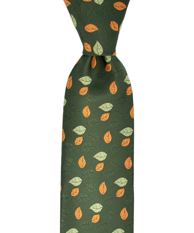 Majestic Floral Necktie and Pocket Square