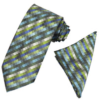 Exciting Micro Square Tie and Handkerchief