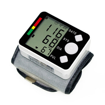 Digital Wrist Blood Pressure Monitor Meter