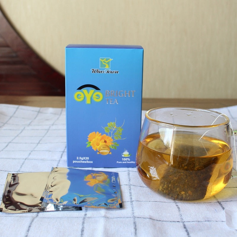 Chrysanthemum Medlar Cassia Seed Eye Bright Natural Herbal Health Tea 2019