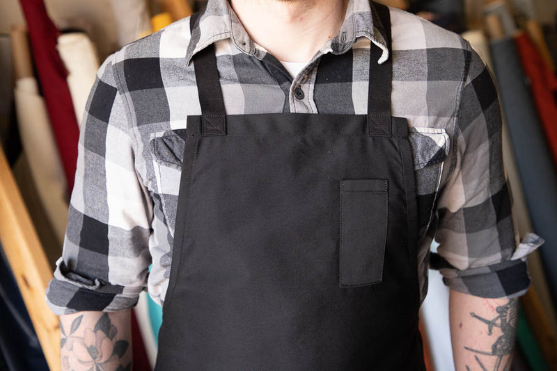 Baseline Bib Aprons (Black, Grey, Navy)
