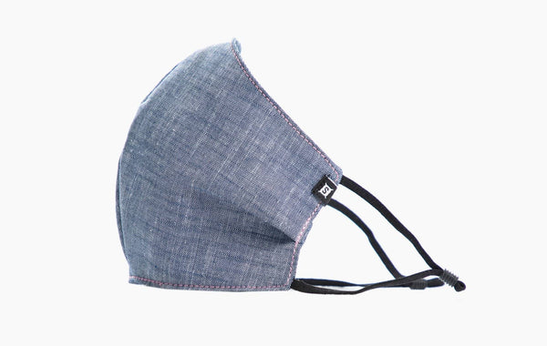Summer Cotton / Ear Elastic (Chambray)