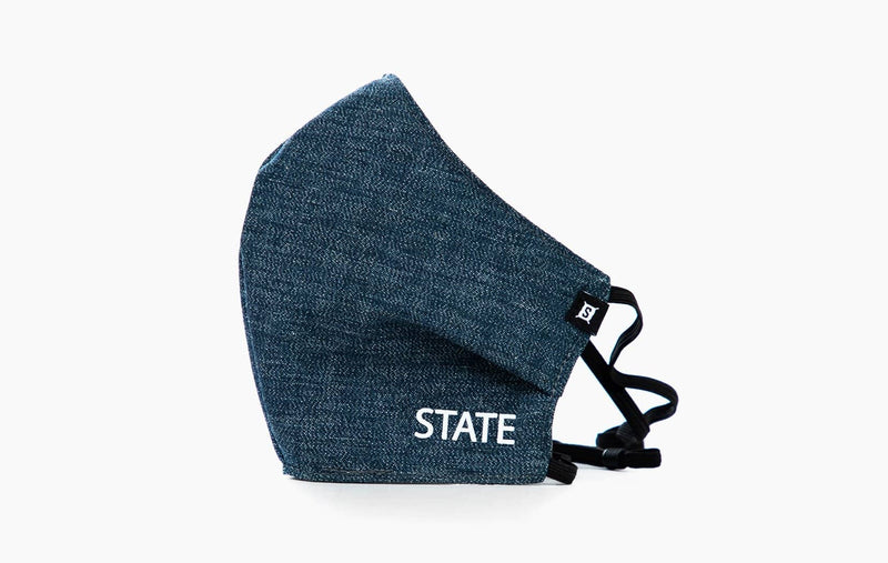 "Penn ""State"" / Yoshiwa Mills Cotton Chambray (Head Elastic)"