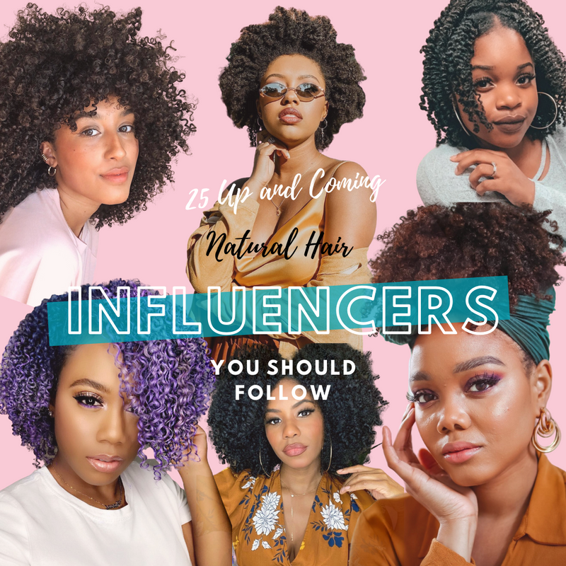 25 Up and Coming Natural Hair Influencers You Should Follow