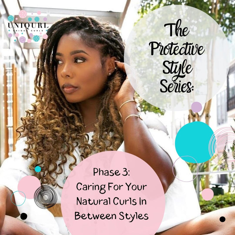 How To Care For Your Natural Curls In Between Protective Styles