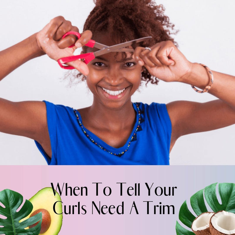 When To Tell Your Curls Need A Trim