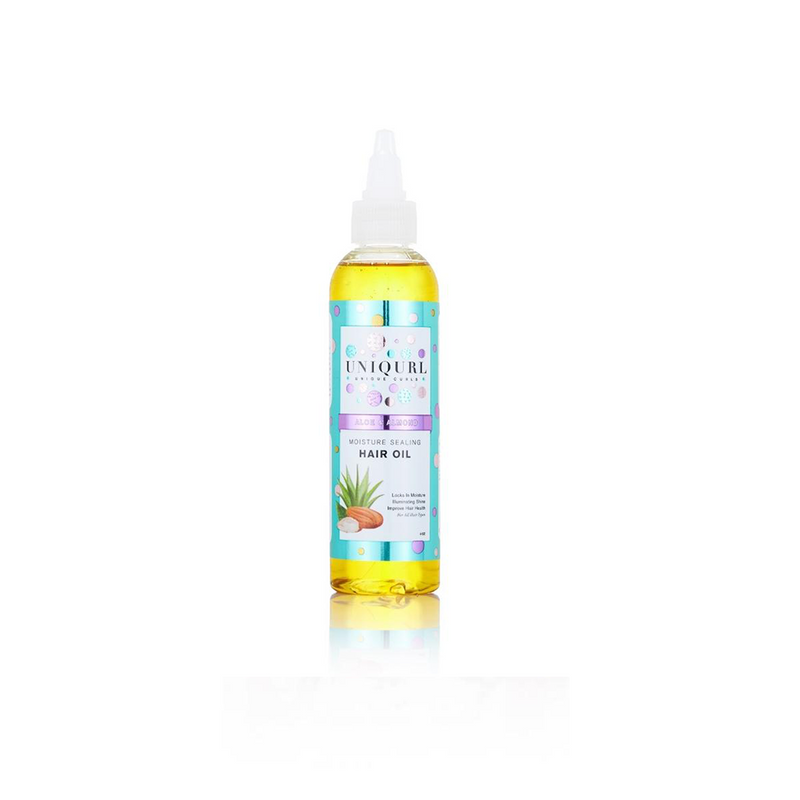 Aloe and Almond Moisture Sealing Hair Oil