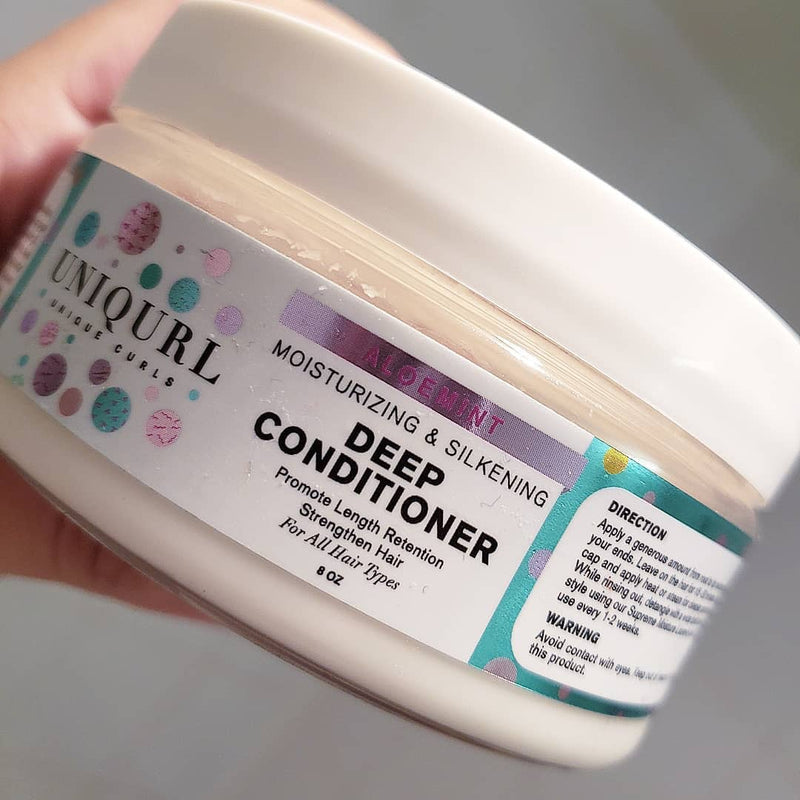 ALOEMINT MOISTURIZING & SILKENING DEEP CONDITIONER