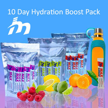 10 Day Hydration Boost Pack / 20 sticks of assorted flavors (5 flavors - Tangerine, Lemon Lime, Sour Raspberry, Grape, Mixed Berry)