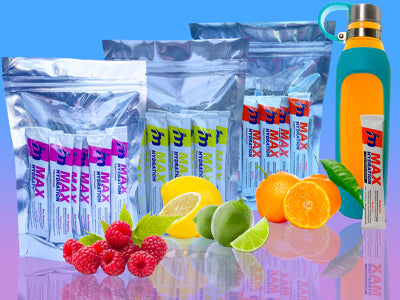 60 Day Hydration Improvement Pack / 120 sticks of assorted flavors (5 flavors - Tangerine, Lemon Lime, Sour Raspberry, Grape, Mixed Berry)