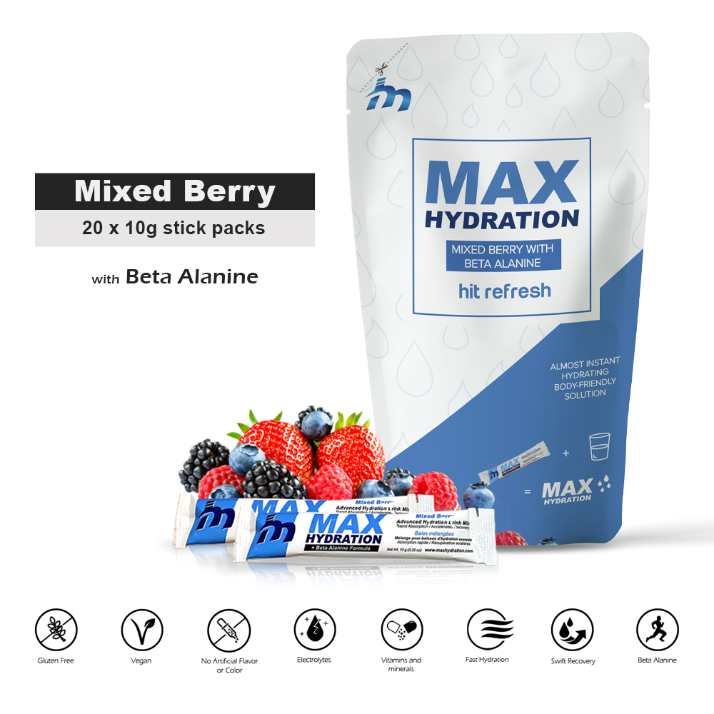 Mixed Berry with Beta-Alanine / 20 Pack