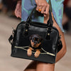 Rottweiler Shoulder Handbag V2