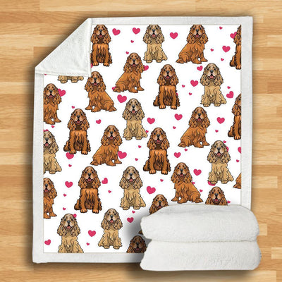 Cocker Spaniel Blanket V3