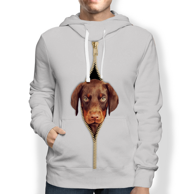 I'm With You - Doberman Pinscher Hoodie V2