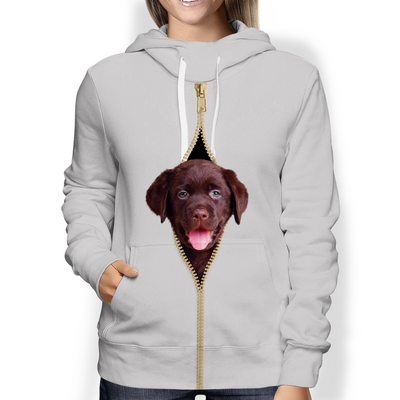 I'm With You - Labrador Hoodie V2