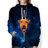 Airedale Terrier Galaxy Hoodie V1