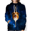 Rough Collie Galaxy Hoodie V1