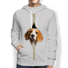 I'm With You - Beagle Hoodie V2