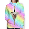 Chinese Crested Rainbow Hoodie V1