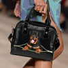 Rottweiler Shoulder Handbag V3